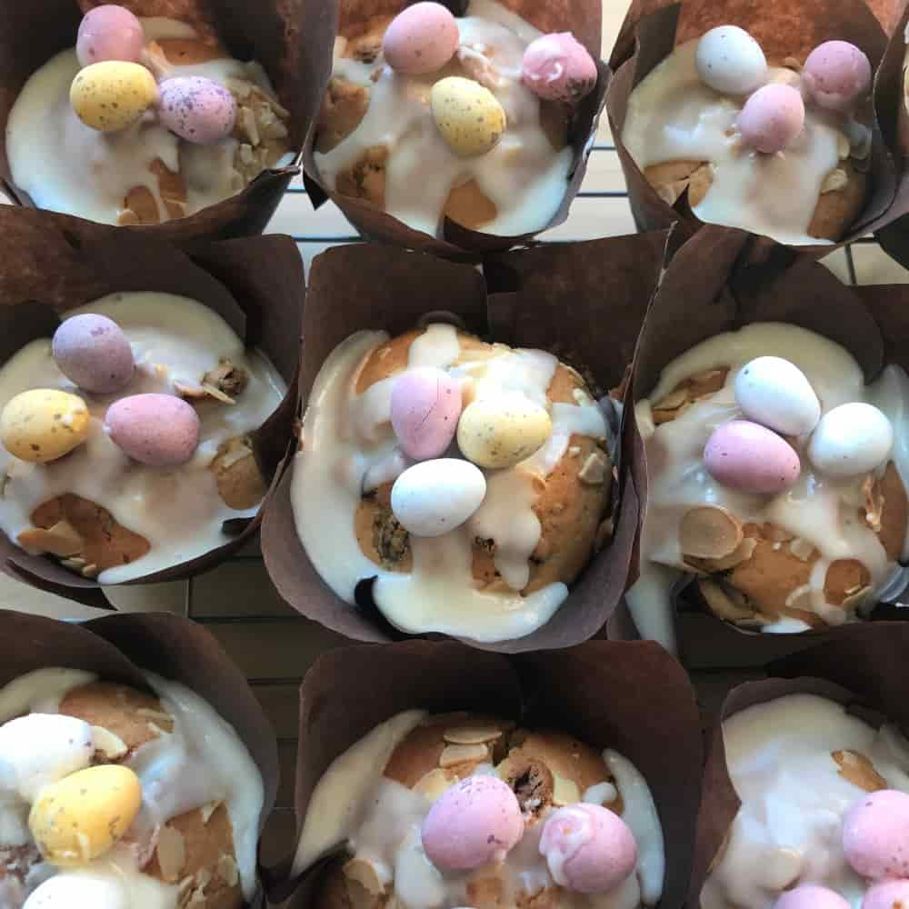 Easy Easter Muffins