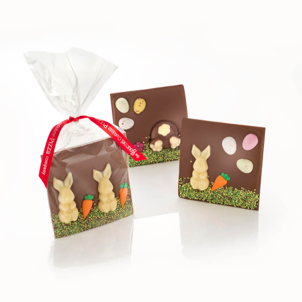 Chocolate Easter Bunny Bars - design may vary
