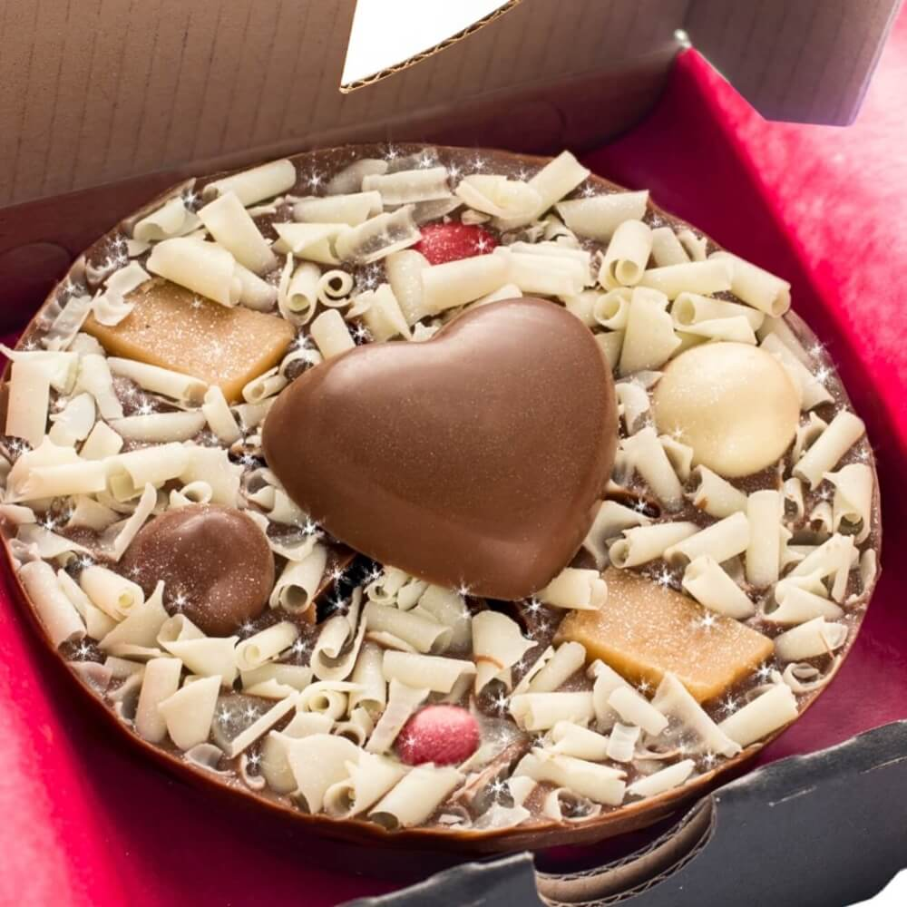 Love Mini Chocolate Pizza The Gourmet Chocolate Pizza Co