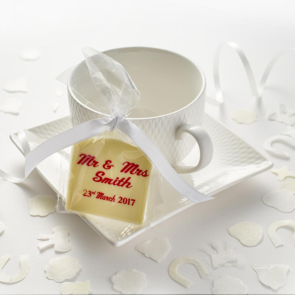 Personalised Wedding Favours | The Gourmet Chocolate Pizza Co