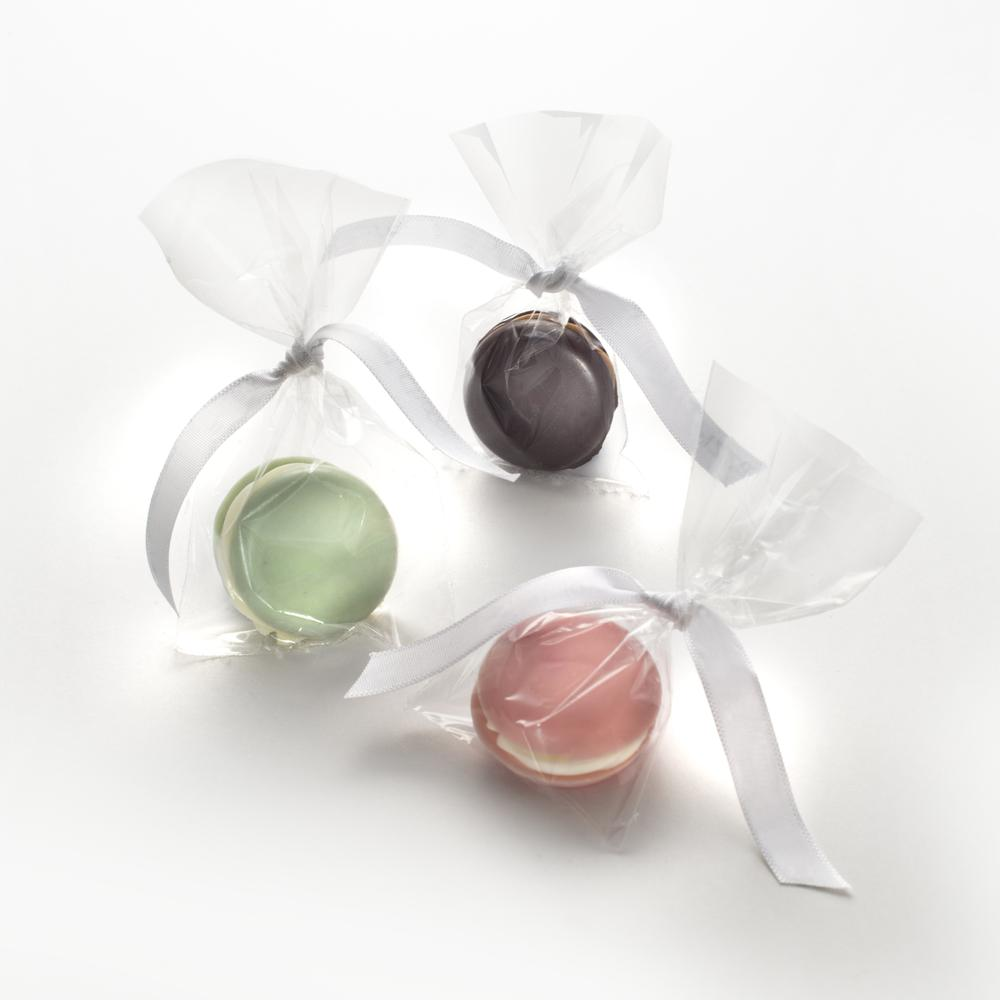 Wedding Macaron Favours   The Gourmet Chocolate Pizza Co
