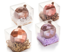 Honeycomb Chocolate Baubles