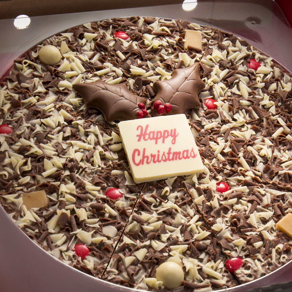 Our delicious 10 inch pizza is the perfect Christmas gift !