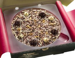 Irish Cream Chocolate Pizza