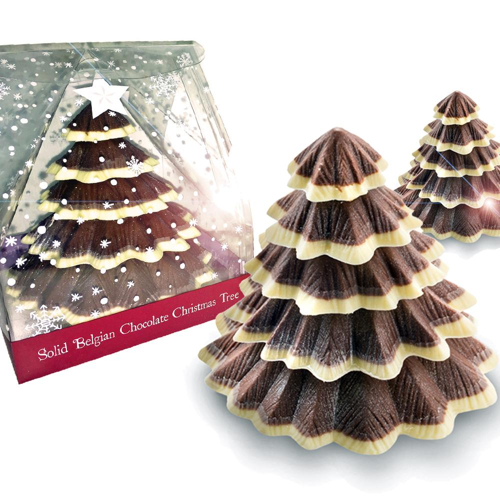 Our Belgian Chocolate Christmas Tree makes the perfect Christmas Day table gift