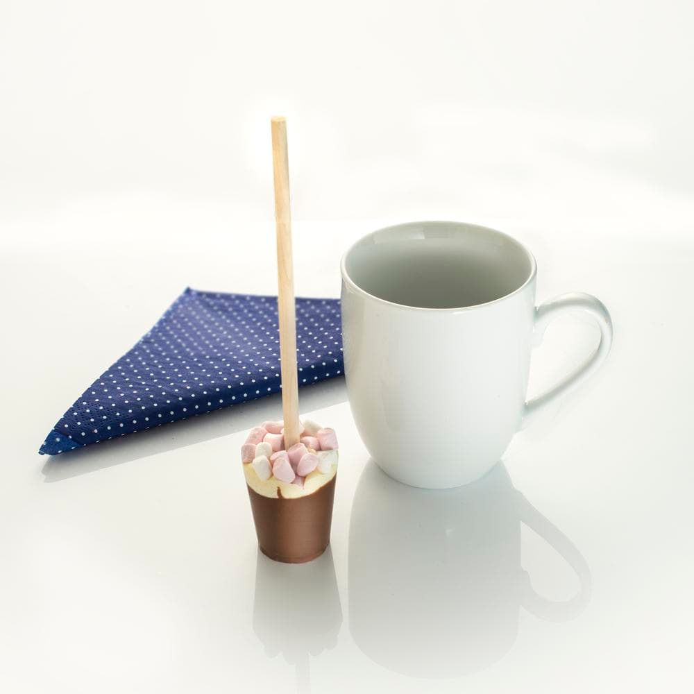 Marshmallow Hot Chocolate Stirrer - a deliciously indulgent treat.