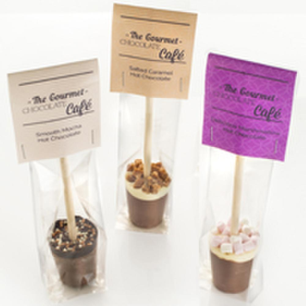 Choose from Salted Caramel, Smooth Mocha, or Delicious Marshmallow
