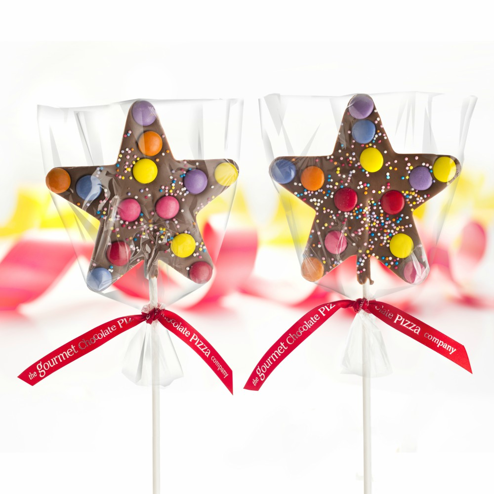 Our Star Lollipops are beautifully presented to give to your little stars