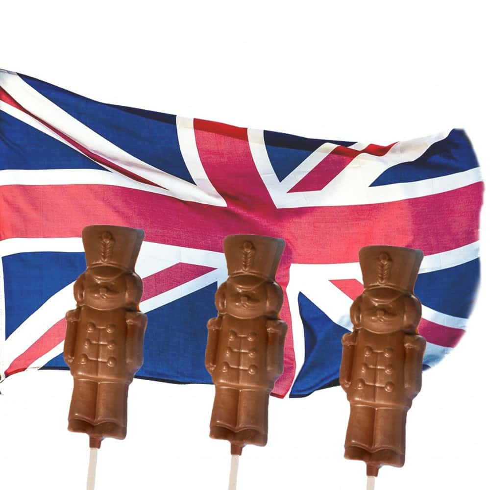 Chocolate Soldiers are great for mini Princes and Princesses