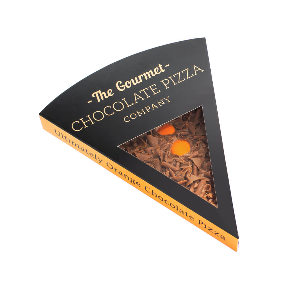 Ultimately Orange Chocolate Pizza Slice