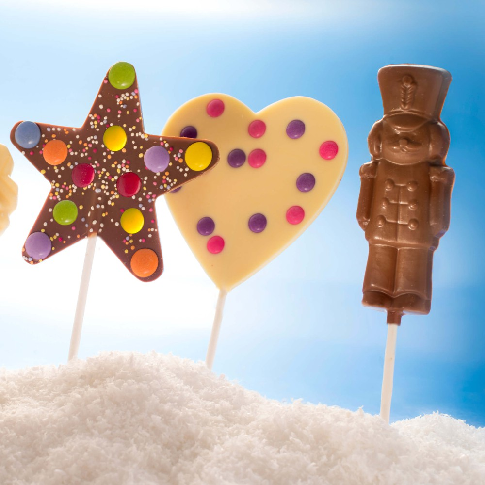Chocolate Lollipops make great party bag gift ideas