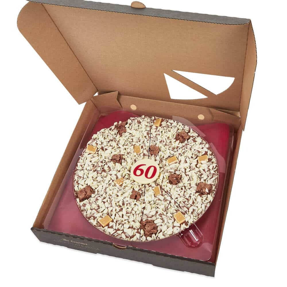 Personalised Age Chocolate Pizza