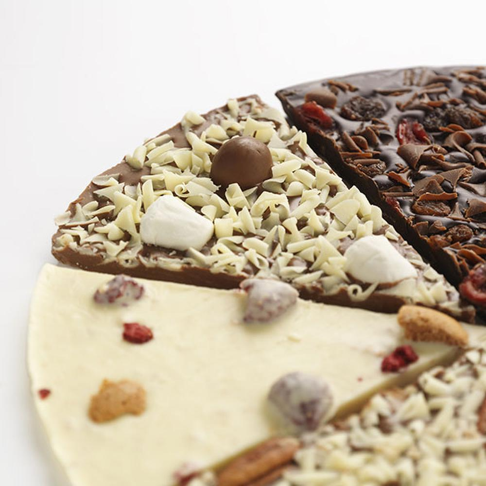 Design your own pizza, great fun to choose your own chocolate and ...