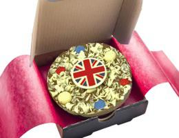 Union Jack Mini Pizza